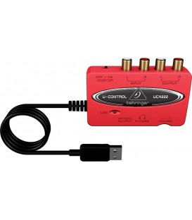INTERFACE DE AUDIO USB UCA222 BEHRINGER