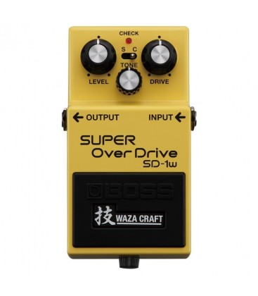 ROLAND PEDAL OVERDRIVE WAZA SD-1W