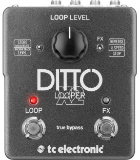 PEDAL DITTO X2 LOOPER TC ELECTRONIC