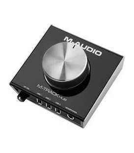 INTERFACE AUDIO HUB 3 USB M-AUDIO