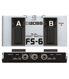 BOSS PEDAL DOBLE INTERRUPTOR FS-6