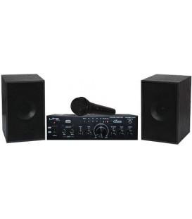 CONJUNTO KARAOKE CON USB/ KARAOKE-STAR1MKII LTC AUDIO