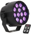 PROYECTOR PAR DE LED 12 x PAR-MINI-RGB3 IBIZA LIGHT