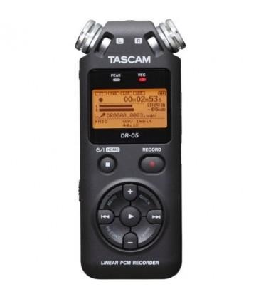 TASCAM GRABADORA DIGITAL PORTABLE DR05V2