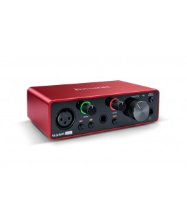 INTERFAZ DE AUDIO USB FOCUSRITE SCARLETT SOLO 3RD GEN