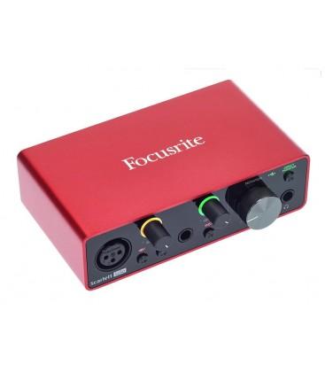 INTERFAZ DE AUDIO USB FOCUSRITE SCARLETT SOLO 3RD GEN