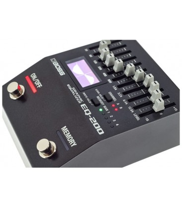 ECUALIZADOR DIGITAL BOSS EQ-200
