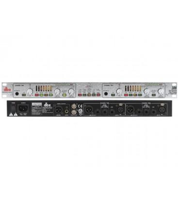 DBX-386 PREVIO MICROFONO 2 CANALES