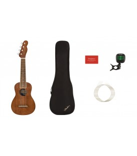 PACK DE UKELELE SOPRANO FENDER SEASIDE