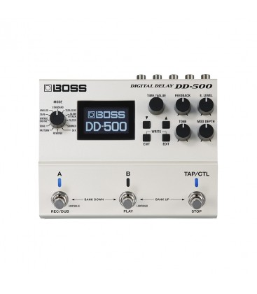 BOSS PEDAL DIGITAL DELAY DD500