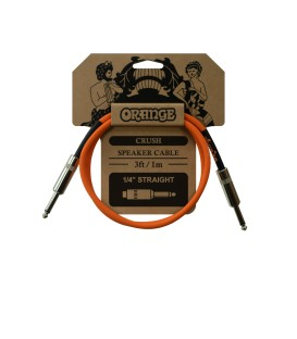 CABLE DE CARGA ORANGE CRUSH SPEAKER CABLE 1M
