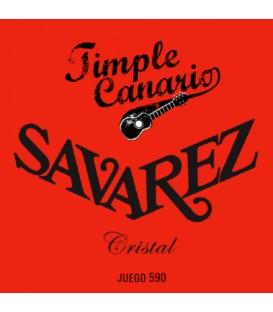 JUEGO DE CUERDAS PARA TIMPLE SAVAREZ 590