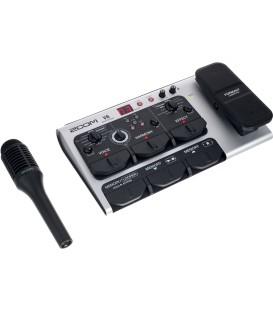 PROCESADOR VOCAL CON MICROFONO ZOOM V6