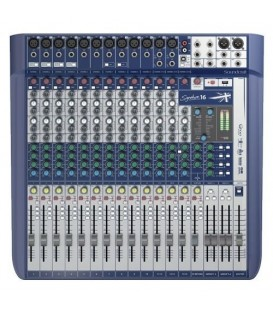 SIGNATURE-16 MESA DE MEZCLAS SOUNDCRAFT