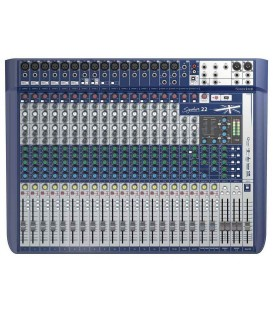 MESA DE SONIDO SOUNDCRAFT SIGNATURE 22