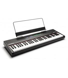 PIANO SEMICONTRAPESADO ALESIS RECITAL 61