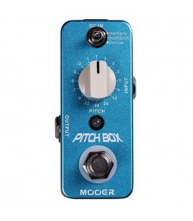 PITCH-BOX PEDAL EFECTO GUITARRA MOOER