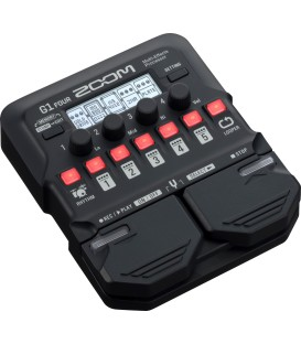 PEDALERA MULTIEFECTOS ZOOM G1 FOUR