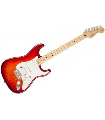 STANDARD STRATOCASTER PLUS TOP, AGED CHERRY BURST, FENDER