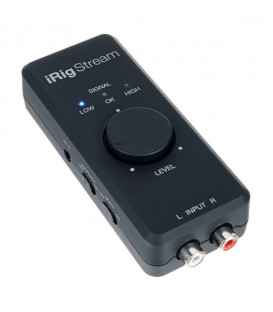 INTERFAZ DE AUDIO IK MULTIMEDIA IIRIG STREAM