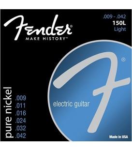 JUEGO CUERDAS GUITARRA ELECTRICA .009-.042 FENDER 150L