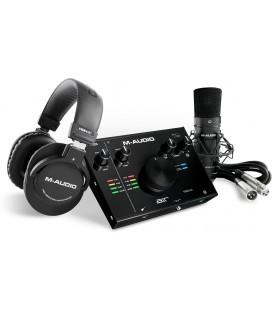 PACK DE GRABACION M-AUDIO AIR 192|4 VOCAL STUDIO PRO