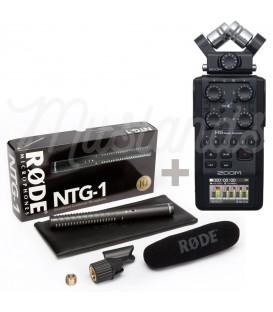 PACK ZOOM H6 + RODE NTG1
