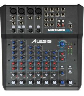 MEZCLADOR ALESIS MULTIMIX 8 USB FX