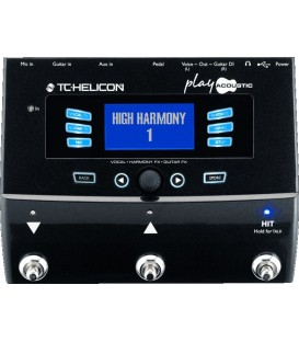MULTIEFECTOS PLAY ACOUSTIC TC HELICON