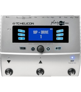 MULTIEFECTOS PLAY ELECTRIC TC HELICON