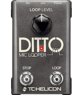 MULTIEFECTOS DITTO MIC LOOPER TC HELICON