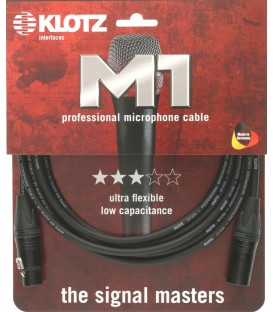 CABLE DE MICROFONO 5 METROS KLOTZ M1FM1N0500