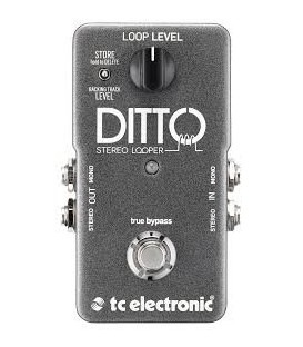 PEDAL DITTO STEREO LOOPER TC ELECTRONIC