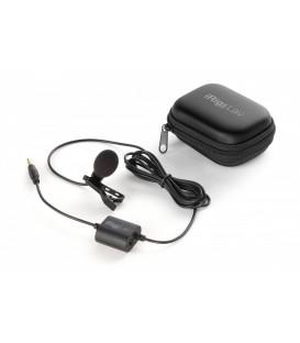 Micrófono de solapa móvil ultra asequible y de calidad profesional para iPhone