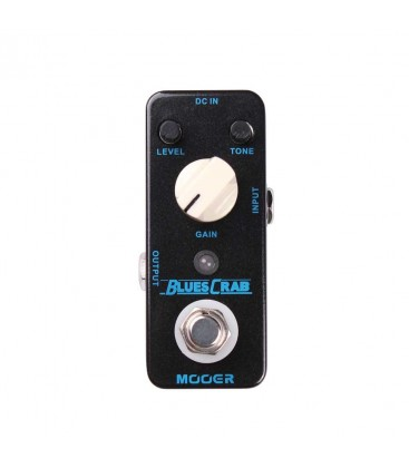 BLUES CRAB PEDAL EFECTO GUITARRA MOOER