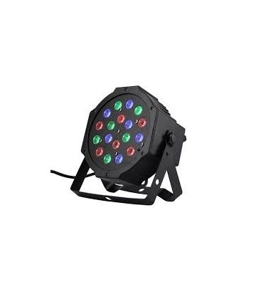 IBIZA FOCO PAR LED 18X1W PARLED181
