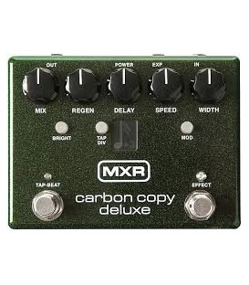 MXR PEDAL DELAY CARBON COPY DELUXE M292