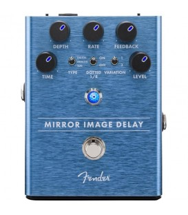 FENDER PEDAL DELAY MIRROR IMAGE