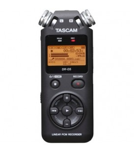 TASCAM GRABADORA DIGITAL PORTABLE DR05V2