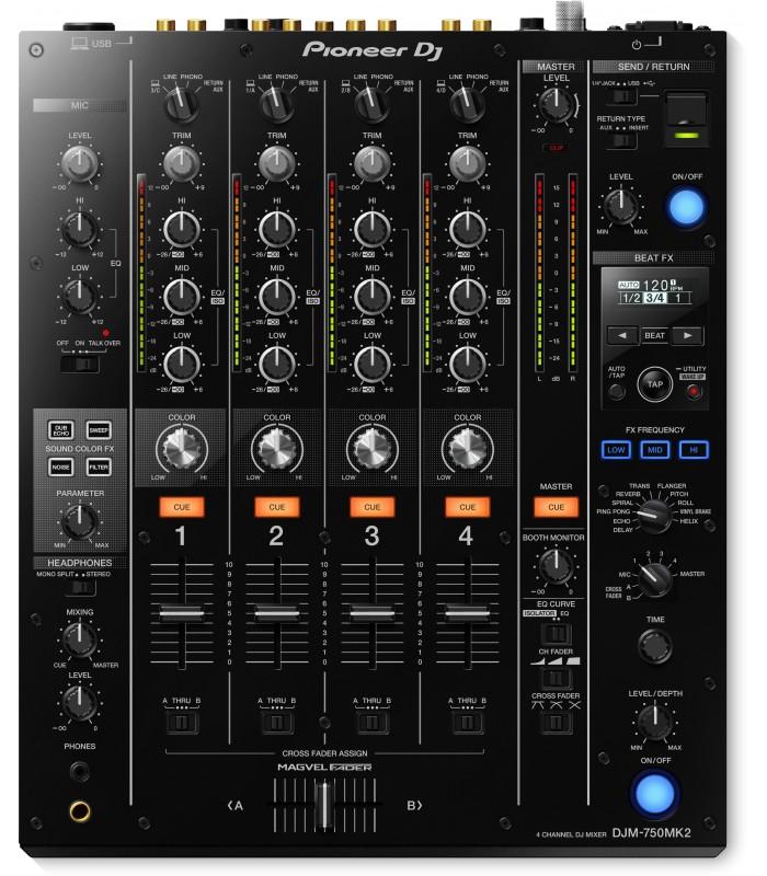 Pioneer djm 750mk2 muslands music shop - Mesa dj pioneer ...
