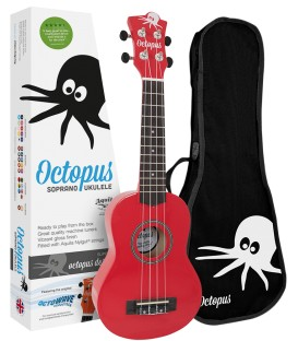 UKELE SOPRANO OCTOPUS UK200-RD