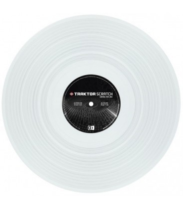 NATIVE INSTRUMENTS VINILO BLANCO MKII