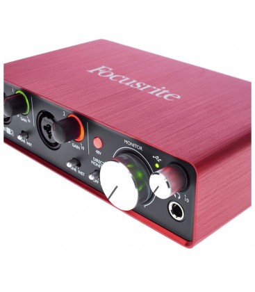 INTERFACE DE AUDIO FOCUSRITE SCARLETT 2I2 2ND GEN