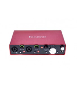 INTERFACE DE AUDIO FOCUSRITE SCARLETT 2I4 2ND GEN