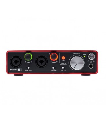 FOCUSRITE SCARLETT STUDIO 2ND 2I2