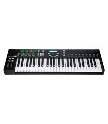 TECLADO CONTROLADOR MIDI ARTURIA KEYLAB ESSENTIAL 49 BK