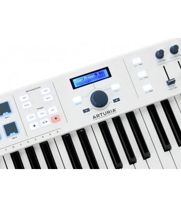 TECLADO CONTROLADOR MIDI ARTURIA KEYLAB ESSENTIAL 61 WH