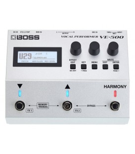 PROCESADOR MULTIEFECTOS BOSS VE-500 VOCAL PERFORMER