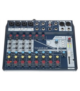 MESA DE SONIDO SOUNDCRAFT NOTEPAD-12FX