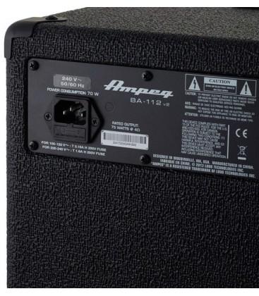 AMPLIFICADOR DE BAJO ELECTRICO AMPEG BA-112 V2